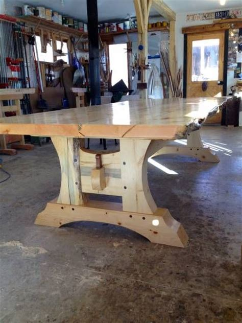 timber frame table s 248 k treprosjekt