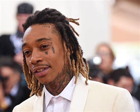 wiz khalifa face tattoos photos with tattoos see pics of