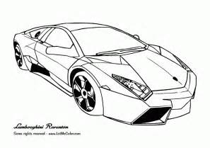 Coloring Pages Of Lamborghini Lamborghini Coloring Page Coloring Home