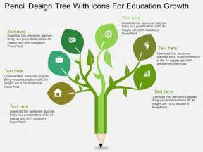 template definition biology uj pencil design tree with icons for education growth flat