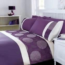 purple king size duvet set mei duvet cover set king size floral purple