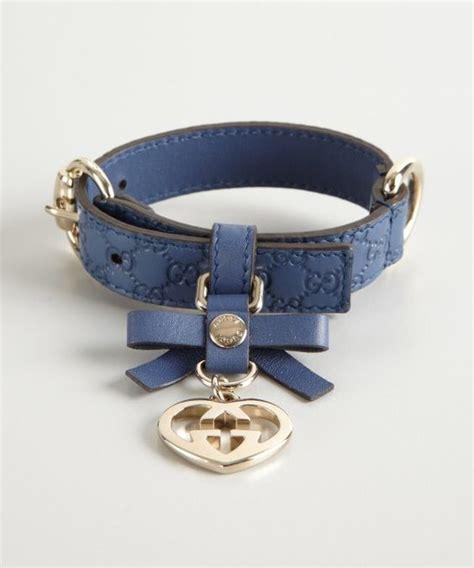 gucci collar charms and collars on