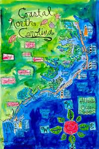 carolina coastal map 25 best ideas about carolina beaches map on