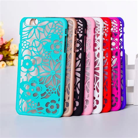 Pattern Flower 0859 Casing For Iphone 7 Hardcase 2d beautiful lucky flower pattern phone for iphone 6 6s 4 7 cover plastic cover