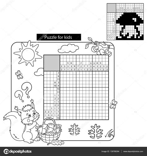conduction coloring page crossword answer key cartoon vector illustration of education puzzle game for