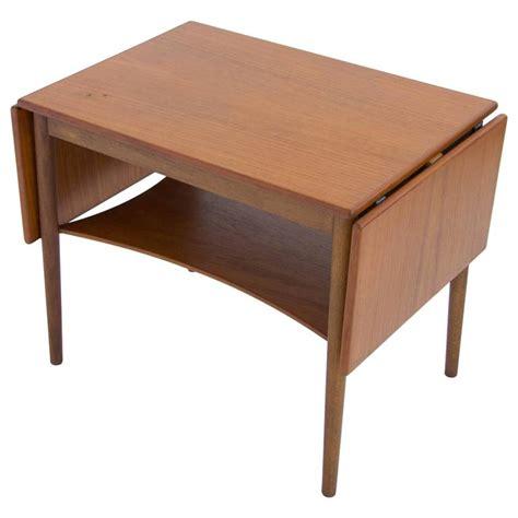 Drop Side Table Borge Mogensen Drop Leaf Side Table For Sale At 1stdibs