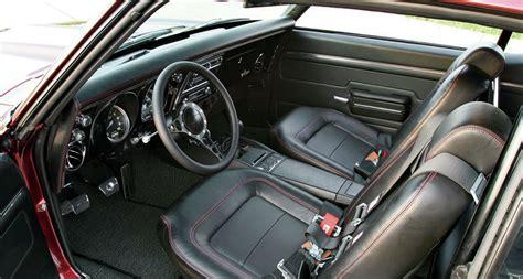1968 camaro interior 1968 chevrolet camaro interior cars zone