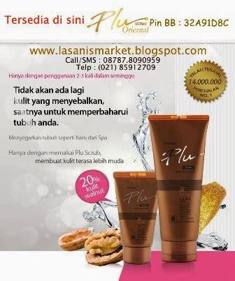 Plu Ginseng Scrub lasanis market plu scrub lulur herbal ginseng merah bubuk kulit kenari