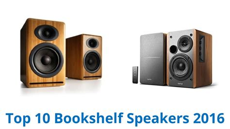 best bookshelf speakers 10 best bookshelf speakers 2016 fall 2016 youtube