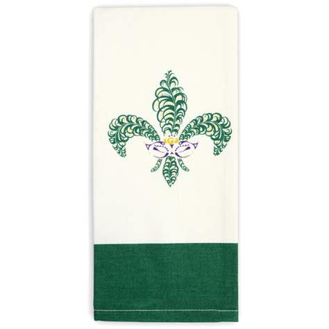 Fleur De Lis Kitchen Towels by Kitchen Towel Fleur De Lis Mask 3kit002
