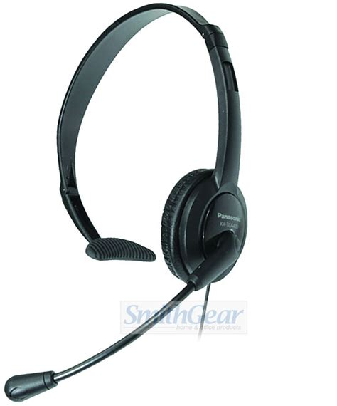 panasonic kx tca430 comfort fit foldable headset panasonic kx tca400 over the head 2 5 mm headset