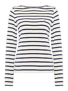 boat neck breton jumper gant women s clothing online house of fraser