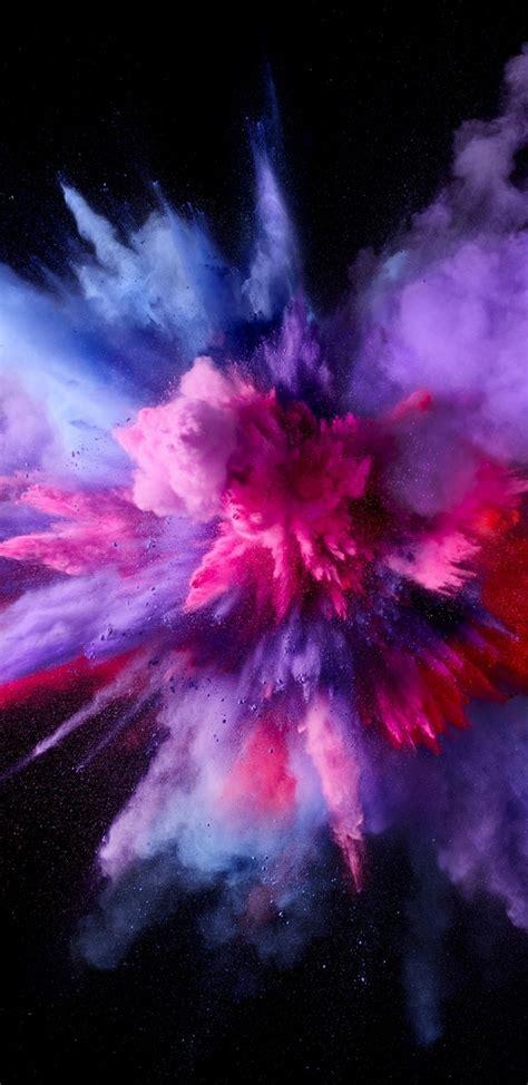 mac os sierra color splash purple  wallpaper