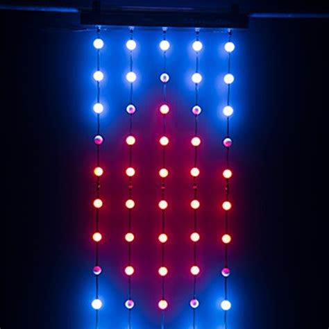 color changing light home chauvet dj motionorb color changing led orbs string d 233 cor