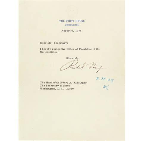 Nixon Resignation Letter Pdf richard nixon resignation www pixshark images