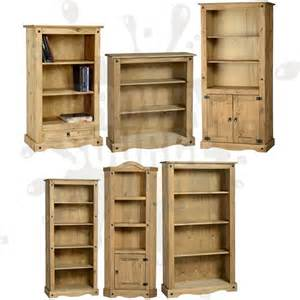 Solid Bookshelves Corona Pine Bookcase Living Room Furniture Book Shelves