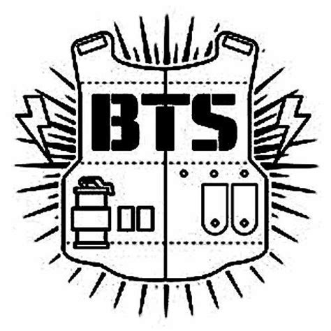 bts logo drawing army s amino