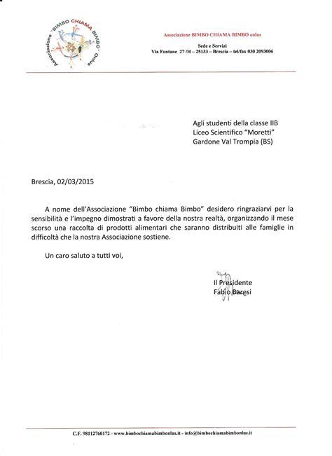 lettere di ringraziamento cronaca archives cus istituto beretta