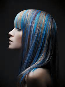 blue colored hair hair highlights 2014 fashion today