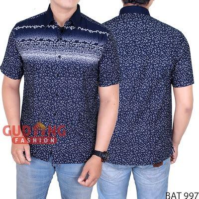 Bat 950 Baju Kemeja Batik Pria Lengan Panjang Kerja Katun Merah Muda qoo10 kemeja batik keren p s clothing