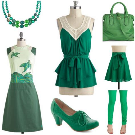 look chic in shamrock shine in emerald check out green