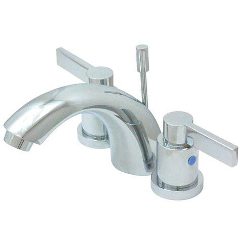 4 Inch Minispread Faucet by Kingston Brass Everett 4 In Minispread 2 Handle Bathroom