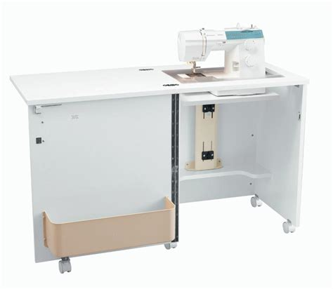 Sewing Cabinet by Inspira Compact Sewing Cabinet White
