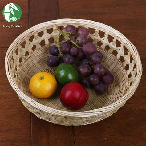 Handmade Fruits - bamboo fruit basket handmade food birthday gift