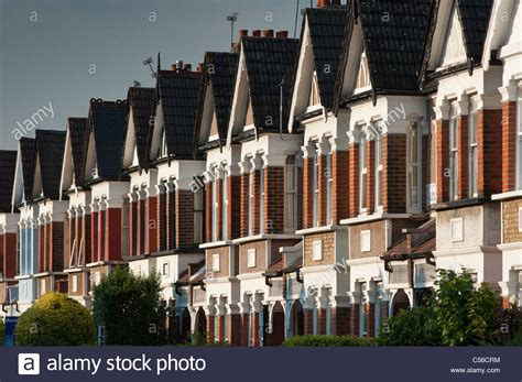 buy house in london uk edwardian terraced houses in enfield london uk stock photo royalty free image