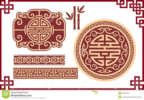 oriental designs set of oriental design elements stock photo image 23010030