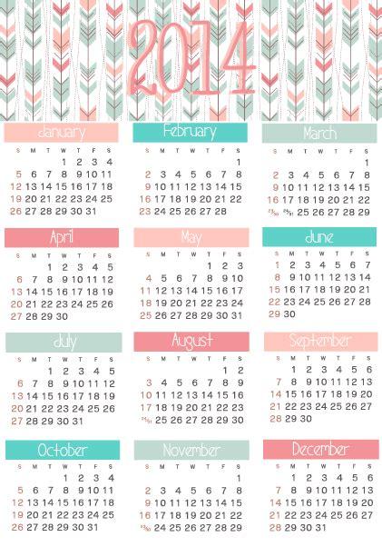 free printable calendar planner 2014 stylish living 2014 calendar planner