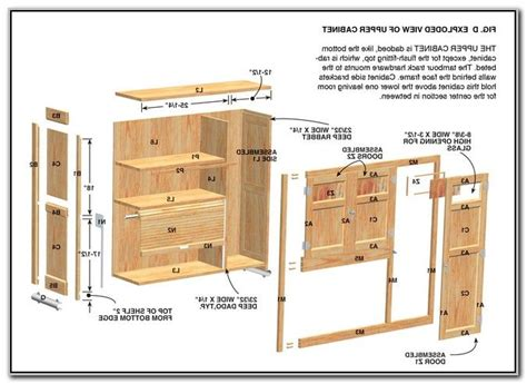 build   kitchen cabinets  plans woodworking
