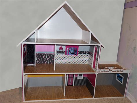 free barbie doll house plans awesome 14 images free dolls house plans home building plans 79163