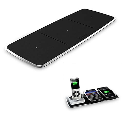 wireless charging station powermat 174 3 position wireless charging station with