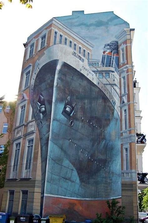 creative large scale street art murals