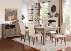 rustic dining room sets homelegance 5108 84 mill valley rustic dining room set