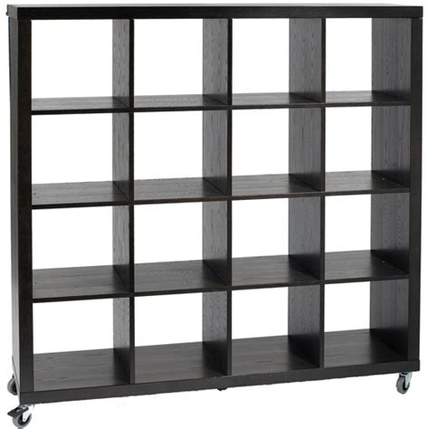cubby shelves wenge in bookcases