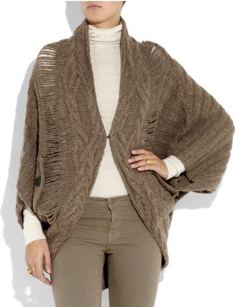 cable knit cocoon cardigan textile elizabeth and eleanor cocoon cable knit