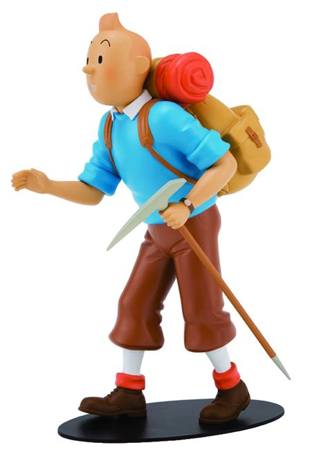 Tintin Figure Isi 6 Import Diskon previewsworld tintin mountaineer limited numbered edition statue c 1 1 3