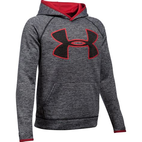 under armour boys storm armour fleece twist highlight hoodie bob s stores