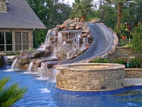 cool backyard pools 1000 images about homes pools on pinterest cool houses