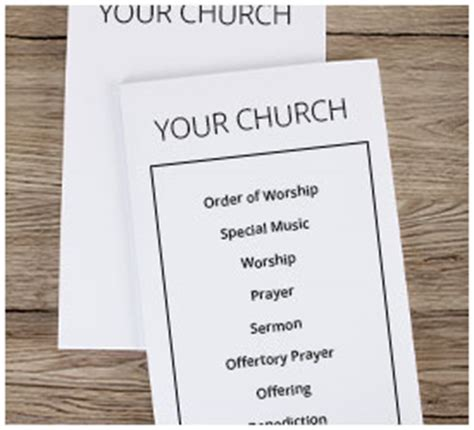 Amazing Contemporary Church Bulletin #2: Bulletin-templates.jpg