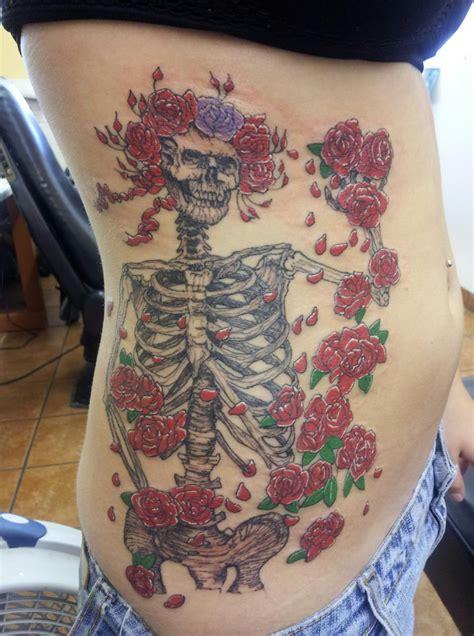 dead roses tattoo grateful dead tattoos grateful dead