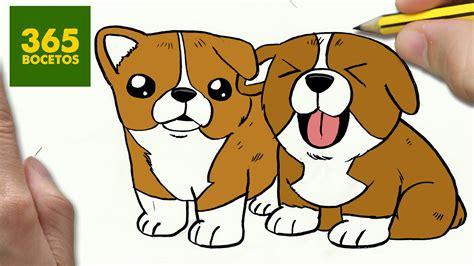 imagenes de animales kawaii 365bocetos como dibujar un perro paso a paso os ense 241 amos a dibujar