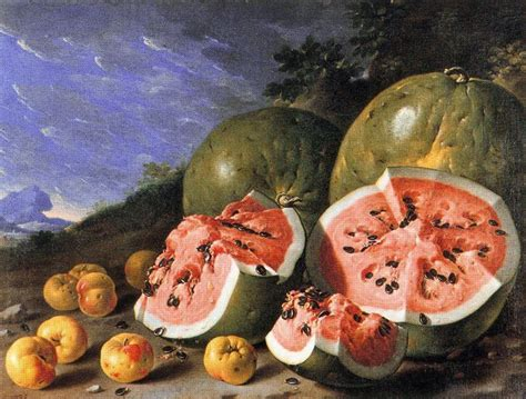 history of the watermelon luis mel 233 ndez the museum of fine arts boston eloge de
