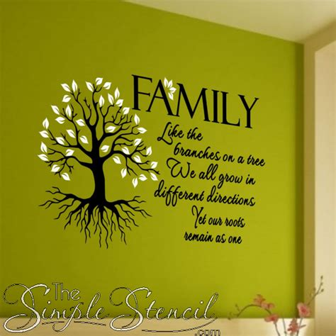 Wedding Quotes Roots by Image Gallery Large Family Tree Quote