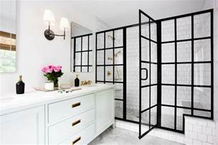 black shower door black frame showers sophisticated with modern industrial