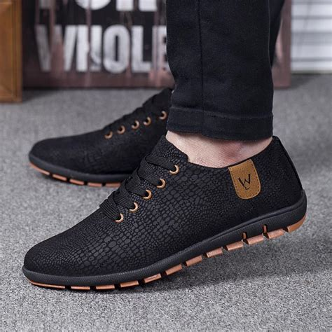 summer mens boots summer shoes breathable mens shoes casual