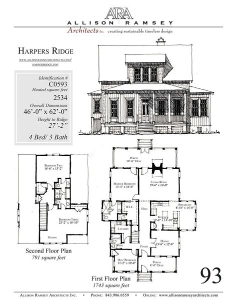 allison ramsey floor plans harpers ridge allison ramsey architects house plans in