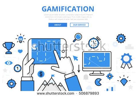 Gamification Stock Images Royalty Free Images Vectors Shutterstock Gamification Website Templates